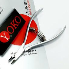 Кусачки для кожи с низкой пяткой YOKO SK 034A - 7 мм
